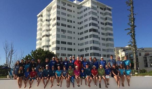 Riviera Towers Vs. Hurricane Matthew T-Shirt Photo