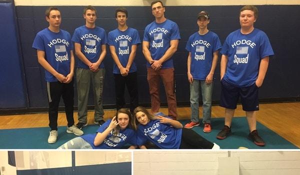 Hodge Squad 9th Grade Advisory!! T-Shirt Photo
