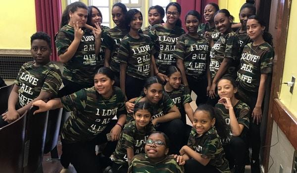 1 Love 2 All 4 Life Step Team T-Shirt Photo