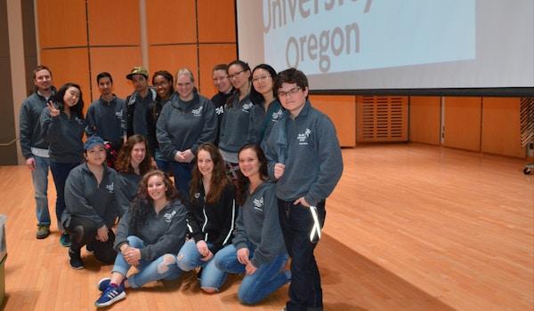 Pacific University Speech & Debate Team T-Shirt Photo