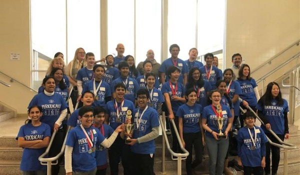 2018 Science Olympiad Frederick Invitational Winners   Both First And @Nd Place T-Shirt Photo