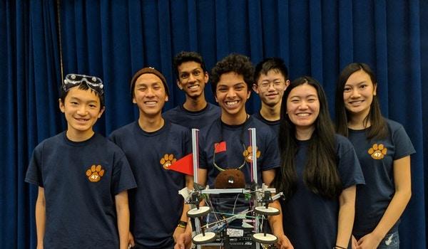Winning A Robotics Competition In Custom Ink Team Shirts T-Shirt Photo