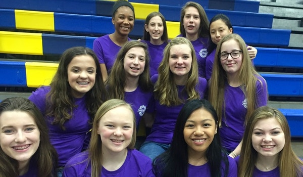 Pumped To Sing In Our Purple Shirts T-Shirt Photo