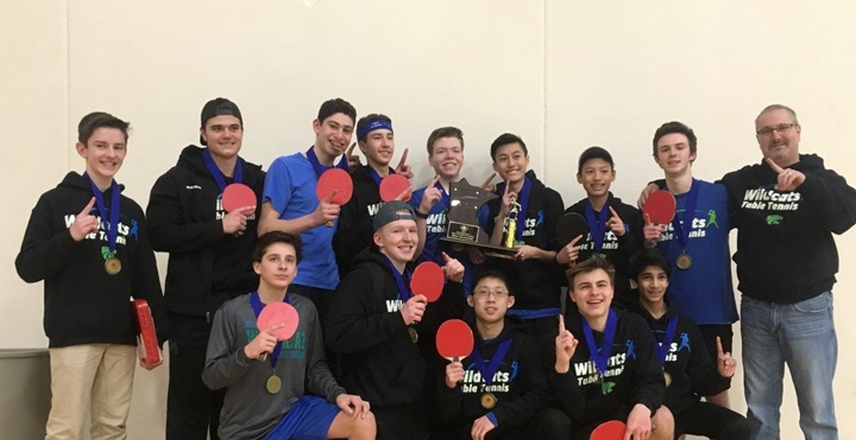 Minnesota Table Tennis State Champs (Eagan) T-Shirt Photo