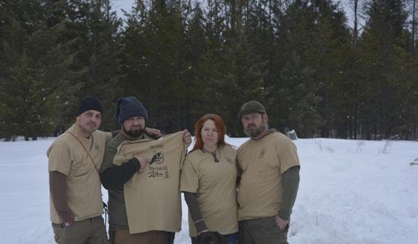 Pacecount Bushcraft Thing Idaho  T-Shirt Photo