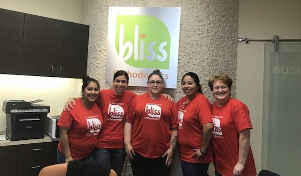 Bliss Orthodontics Team T-Shirt Photo