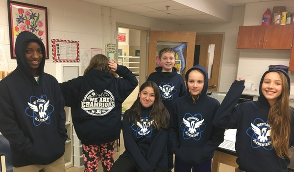 Science Olympiad Here We Come! T-Shirt Photo
