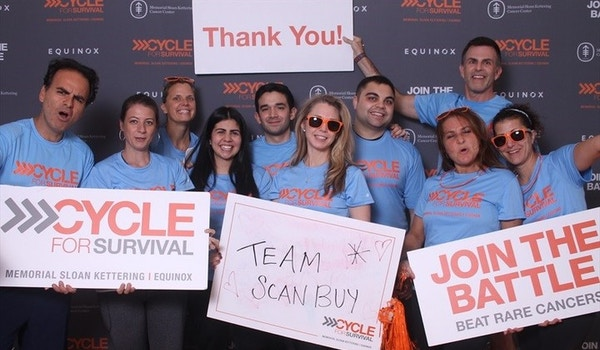 Team Scanbuy   Cycle For Survival 2018 T-Shirt Photo