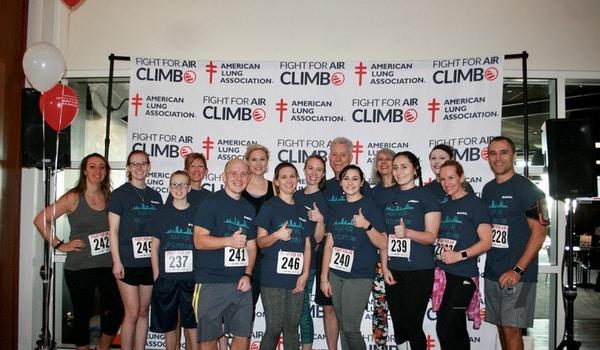 Team Sikich   Fight For Air Climb T-Shirt Photo