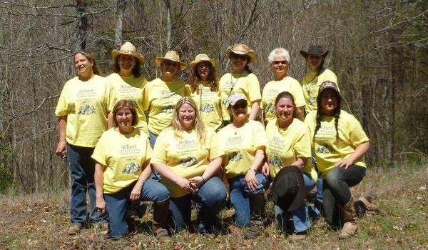 Women Of The Rk Ranch Spring Ride, Jonesborogh Tenn. T-Shirt Photo