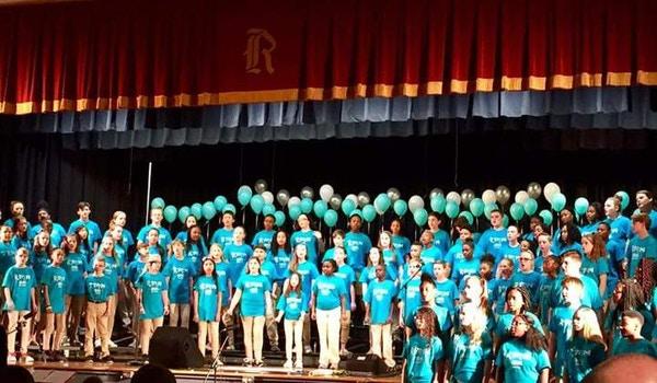 Sixth Grade Spring Chorus Concert T-Shirt Photo