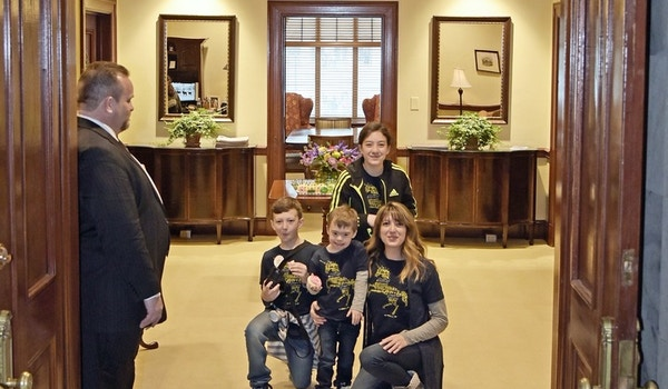 World Down Syndrome Day In The Ky Governor's Office T-Shirt Photo