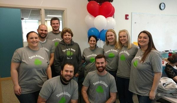 Team Killeen Retirement! T-Shirt Photo