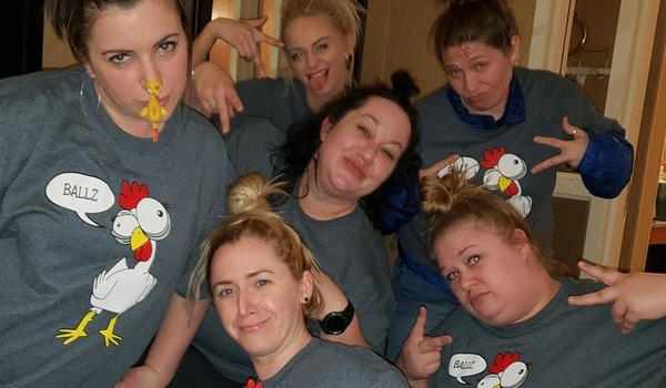 Chicken Cluckers T-Shirt Photo
