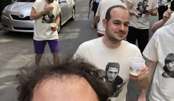 Bachelor Party Second Line Parade T-Shirt Photo