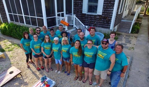 2017 Rick Loux Memorial Broadkill Beach Backyard Cornhole Tournament T-Shirt Photo