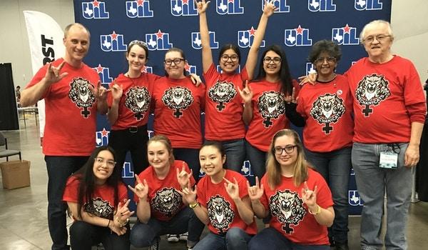 Mechanicats @ Texas Uil State Robotics Championships T-Shirt Photo