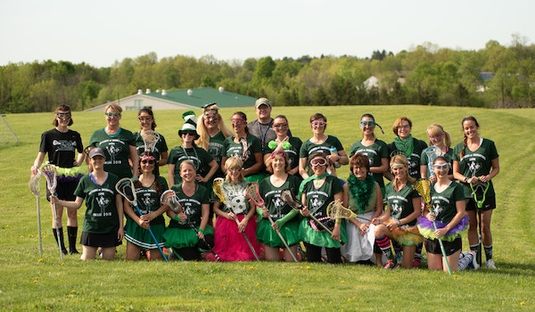 Mothers Vs Daughters Lacrosse Game T-Shirt Photo