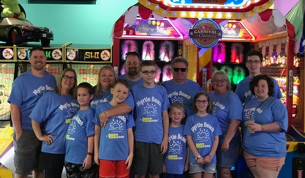 The Ros Some Family At Myrtle Beach T-Shirt Photo