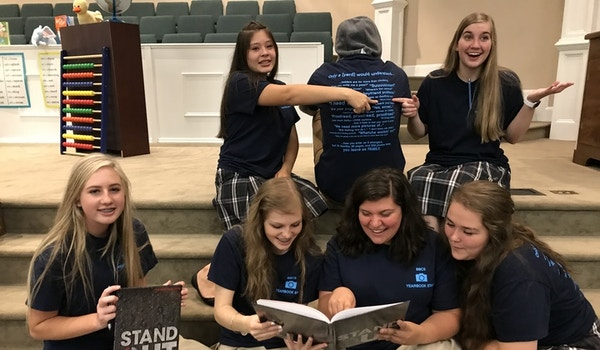 Bbcs Yearbook Distribution  T-Shirt Photo