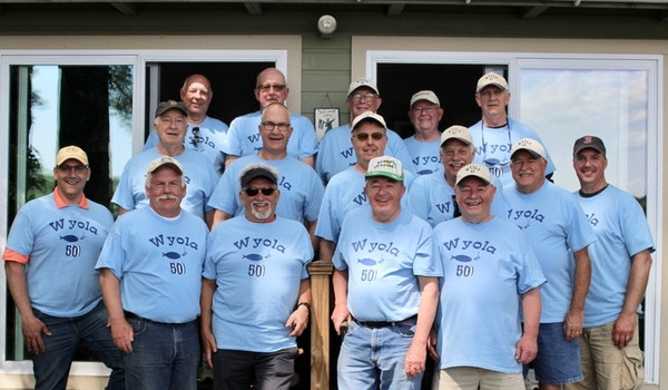 Family, Friends & Fishing! T-Shirt Photo