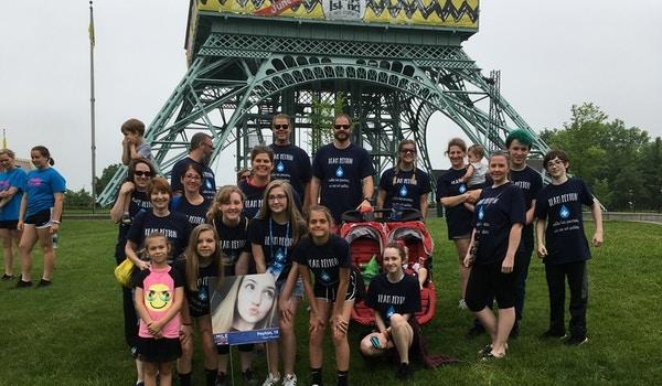 2018 Jdrf One Walk Team Peyton T-Shirt Photo