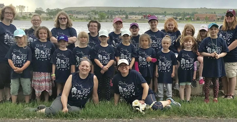 Great Falls Girl Scouts T-Shirt Photo
