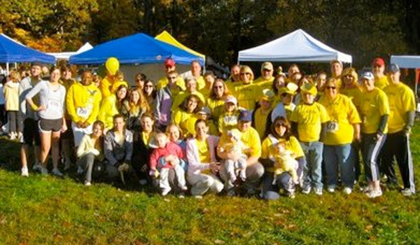 Team Little Lucy Walks To Fight Childhood Cancer T-Shirt Photo