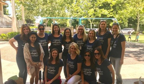 We Survived Kindergarten! T-Shirt Photo