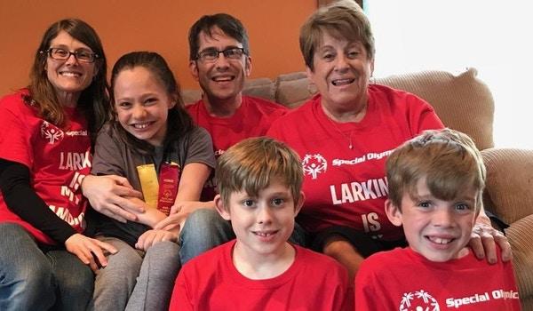 Special Olympics   Larkin Is My Champion T-Shirt Photo
