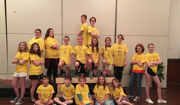 The Lion King Jr Cast At Dream Barn Productions  T-Shirt Photo