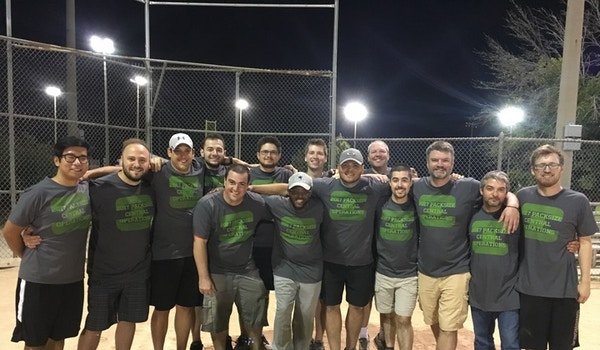 Employee Event Softball Winning Team T-Shirt Photo