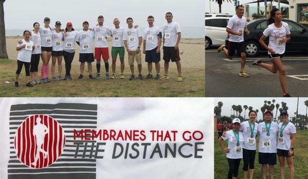 Microdyn Nadir At Santa Barbara Half Marathon And 5k T-Shirt Photo