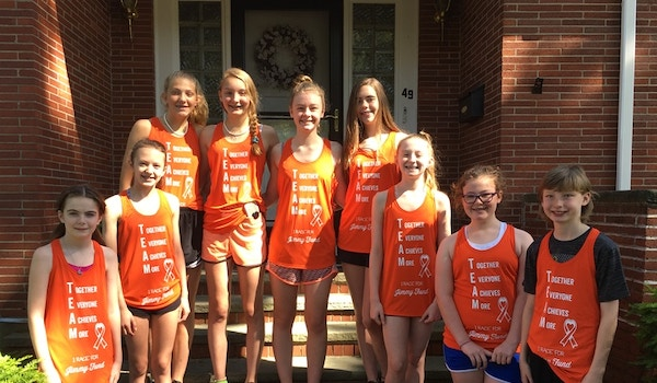 Team Caeleigh Races For Jimmy Fund T-Shirt Photo