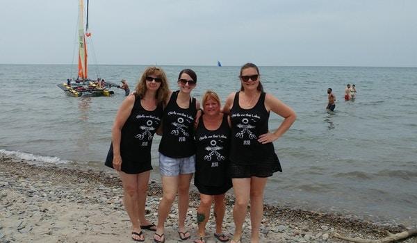 Girls On The Lake 2018 T-Shirt Photo
