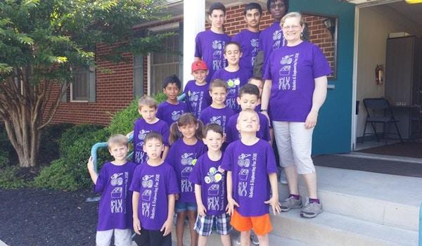 Junior Robotics Fun Session With The Robo Lions Robotics Team T-Shirt Photo
