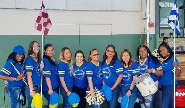 Sun Power Cheerleaders  T-Shirt Photo