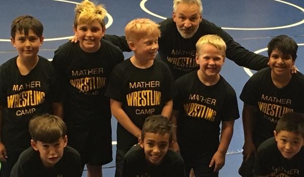 Mather Wrestling Camp T-Shirt Photo