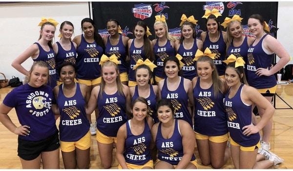 Ashdown Varsity Cheer Team 2018 T-Shirt Photo