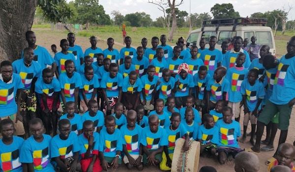 Choir Kids In South Sudan Go Custom T-Shirt Photo