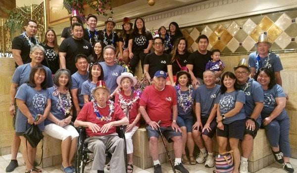 Across 4 Generations...Family Reunion T-Shirt Photo