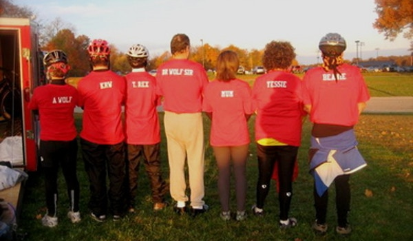Wolf Family Riders T-Shirt Photo