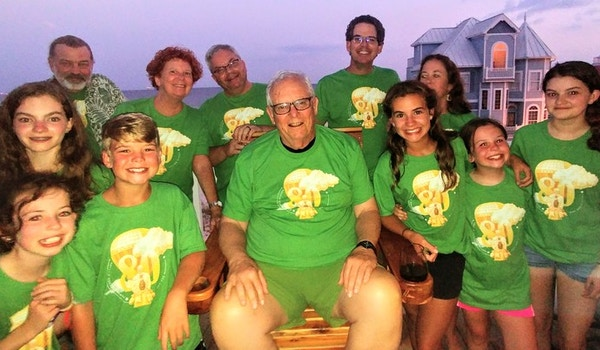 Surround In Love! Happy 80 Years Young! T-Shirt Photo