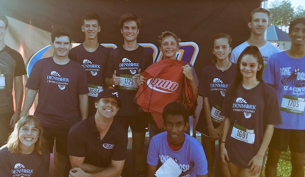 Danes Xc Shows Off 1st Tee At Community 5k T-Shirt Photo