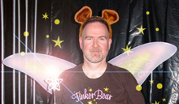 Tinker Bear Casts His Spell! T-Shirt Photo