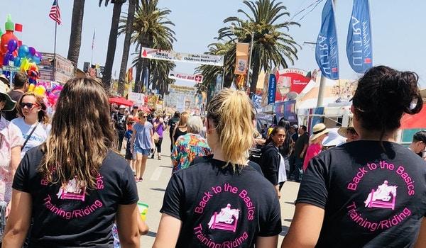 Team Spirit At The County Fair T-Shirt Photo