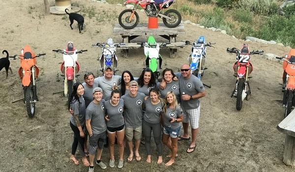 10th Annual Motocross Safari 2018 T-Shirt Photo