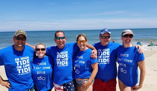 In High Tide Or Low Tide These Friends Will Always Be By Our Side! T-Shirt Photo