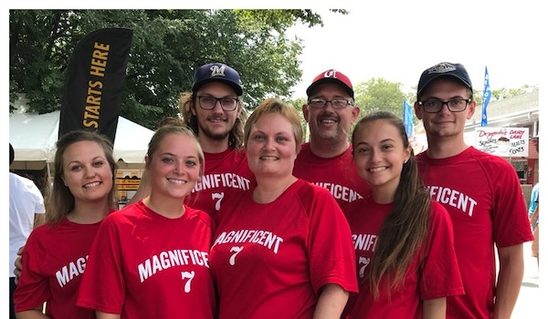 The Magnificent Family! T-Shirt Photo