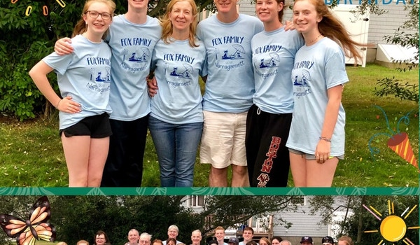 Fox Family 50th Birthday Party Reunion T-Shirt Photo